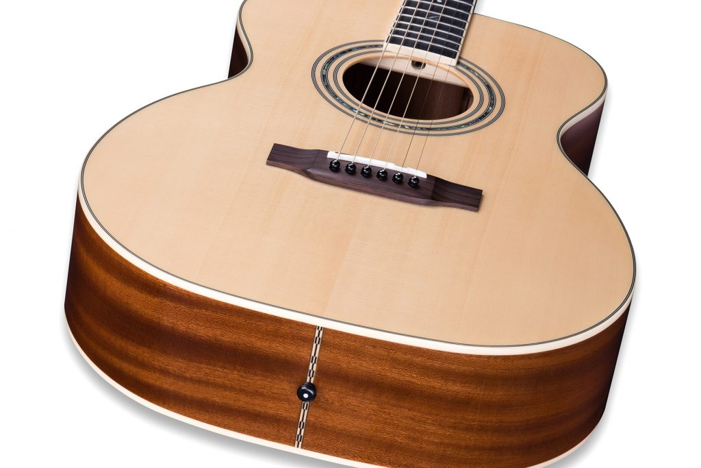 """ZAD50 Solid Spruce/Mahogany Acoustic Smaller """"OM"""" Size"""