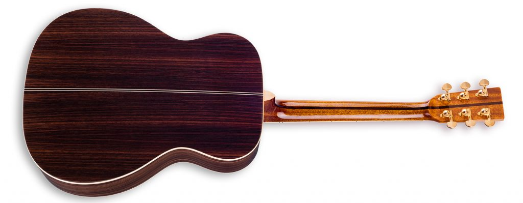 """ZAD900 Solid Spruce/Rosewood Acoustic Pro Series Smaller """"OM"""" Size"""