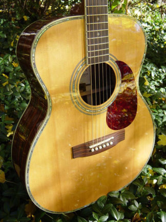 zad80 solid rosewood acoustic guitar